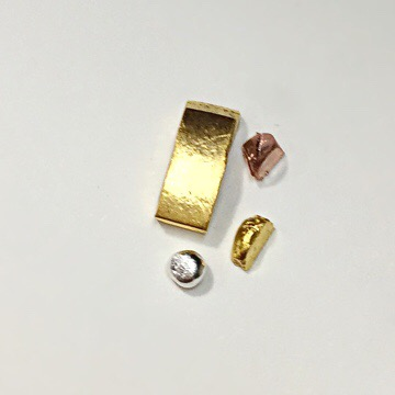 純金, 純銀, 純銅